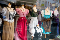 German shop window Stock Images