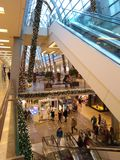 German shopping centre royalty free stock image
