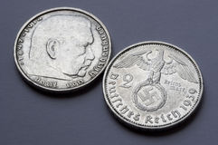 German silver coin Royalty Free Stock Image