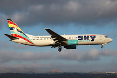 German Sky Airlines Boeing 737 Royalty Free Stock Images