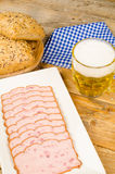 German snack Royalty Free Stock Image