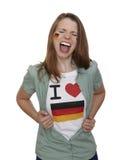 German Soccer Fan Royalty Free Stock Image