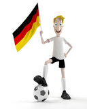 German soccer player Stock Photos