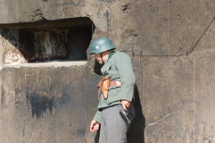 German soldier Royalty Free Stock Images
