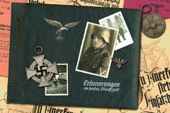 German soldier Royalty Free Stock Photography