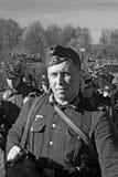 German soldier-reenactor Stock Photography