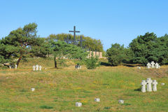 The German soldier's cemetery Royalty Free Stock Images