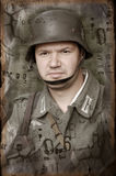 German soldier of WW2 Stock Photography