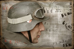 German soldier of WW2 Royalty Free Stock Image