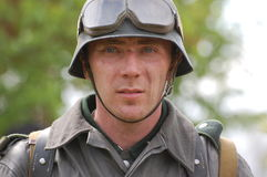 German soldier of WW2 Stock Image