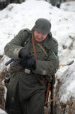 German soldier of WW2 Royalty Free Stock Photography