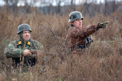 German soldiers. Stock Images