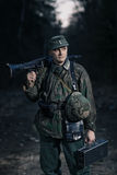 German soldiers from World War II. Royalty Free Stock Photos