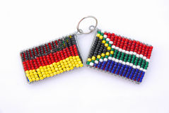 German and South African flag Royalty Free Stock Image