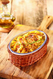 German spatzle, or egg noodle dumplings Royalty Free Stock Images