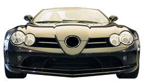 German Sport Car. Front view of a German Sport Car Royalty Free Stock Image