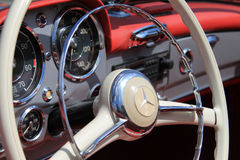 German sports car interior Stock Photography