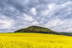 German Spring Countryside Landscape Royalty Free Stock Photography
