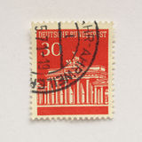 German stamp Stock Photography
