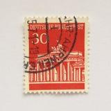 German stamp Stock Photography