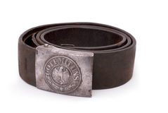 German standard soldier belt (Whermacht) Stock Image