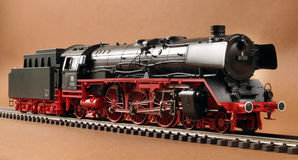 German steam locomotive model Stock Image