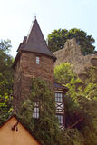 German Stone Tower Stock Photo