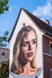 German Street Art - Bayreuth royalty free stock photography