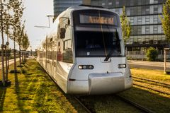 German streetcar Royalty Free Stock Images