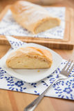 German Strudel with cream cheese Stock Images