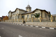 German style building in Swakopmund, Namibia Royalty Free Stock Photos