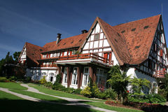 german style house in Brazil Stock Photo