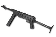 German submachine gun. MP40 Royalty Free Stock Photography