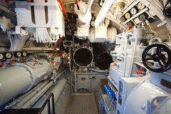 German submarine - aft torpedo compartment Stock Photography