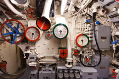 German submarine - heart of submarine Stock Photo