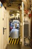 German submarine - torpedo compartment Stock Images