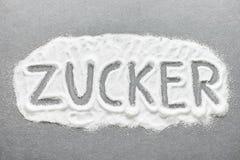 German sugar Stock Photo