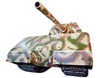 Free German Super-heavy Tank Panzerkampfwagen VIII Maus Isolated White Stock Photo - 64102260