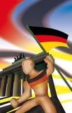 German Symbol stock illustration