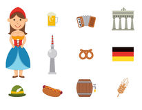 German symbol Royalty Free Stock Photos