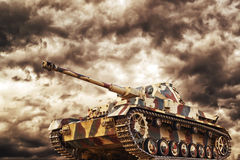 German Tank Royalty Free Stock Photography