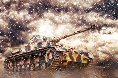 German Tank Royalty Free Stock Photography