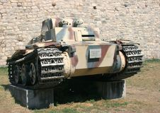 German Tank PzKpfw I Stock Photo
