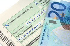 German tax Royalty Free Stock Images