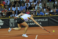 German tennis player Andrea Petkovic in action Stock Photos