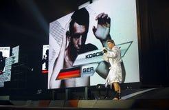 German thaiboxing champion Bartosz Koscielniak Royalty Free Stock Images