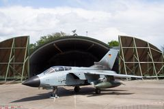 German Tornado fighterjet Royalty Free Stock Photos