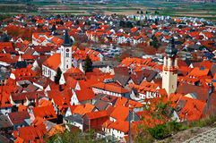 German town Stock Image