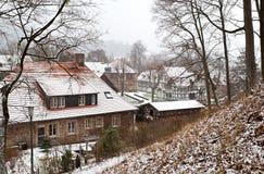 German town Ilsenburg in De Harz Royalty Free Stock Photo