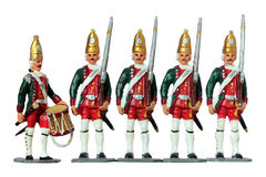 German Toy Soldiers Royalty Free Stock Images